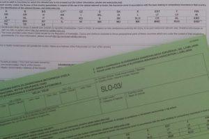 """Nova verzija """"Zelene karte"""" na Beli podlagi je sedaj – Enostranska  belo-črna karta za zavarovanje motornega vozila"""
